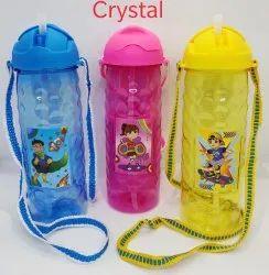 Kids Plastic Crystal Water Bottle