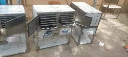 Own Manufacturing Semi-Automatic Idly Box 240 Idly Capacity, Size: 4 Feet, Gas