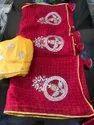 Pure Banarasi Hyderabadi Soft Jute Fabric Saree