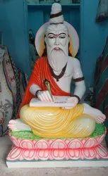 White Marble Valmiki Statue 4 Fit Size