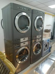 Stainless Steel Lg Stack Washer And Dryer, Capacity: 12 Kg