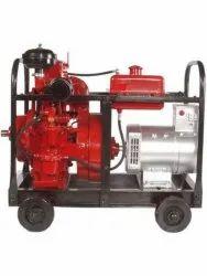 5 kVA Honda Type Portable Diesel Generator, Single Phase