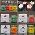 Ribbed Jar Candles