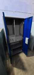 Metal powder coated cupboard