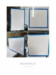White Marker Board Without Frame