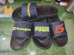 Black PVC Flip Flops. 99sale only