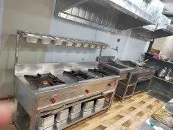 Kitchen Set Up For Hotels