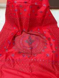 Hand Kanthastitch Silk Sarees