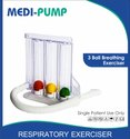 3 Ball Spirometer Respiratory Exerciser