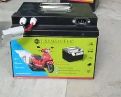 Sumatotek - 60V 30AH Lithium Ion Battery_Electric Scooter Battery_Upto 120km Mileage
