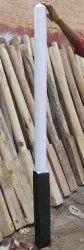 White Wooden Kho Kho Pole, Packaging Type: Box, Size: 6feet