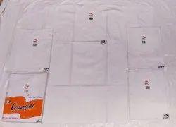 Cotton/Linen White Men's vest RNS