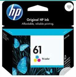 Hp 61 Tri Color Original Ink Cartridge