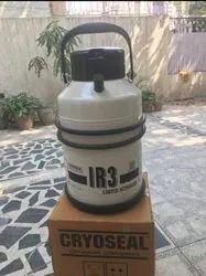 Inox LN2 Container. IR3