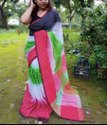Khadi Cotton Ikkot Sarees
