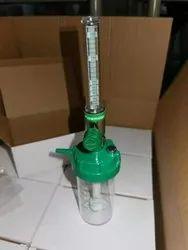BPC Flowmeter (Oxygen Flowmeter) With Humidifier Bottle With DIN Adaptor