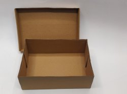 Corrugated Shoe Box