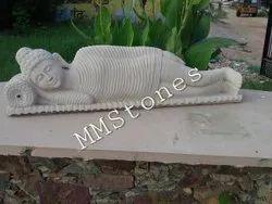 Stone Bhudha Statue Restin