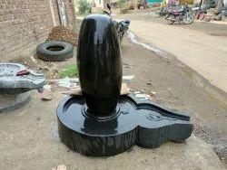 Oval Shaped Narmada Shiva Lingam