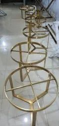 Center table gold pvd coating