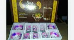 Sweet Magic 6 Glass And 4 Bowl Set, Packaging Type: Box