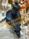 Shivling Black Marble Statue