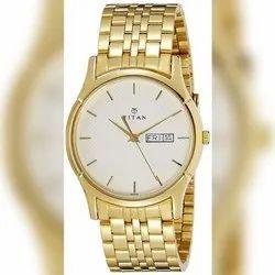 Men Round Titan watch, For Daily