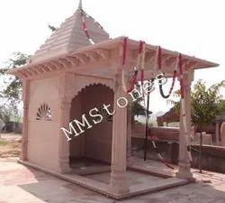 Stone Temple with baramda 7 feet