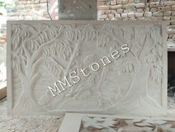 Stone Mural in murti panel