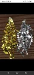 Party Golden Coin Hanging, Size: 3ft