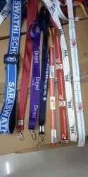 Multicolor Gift Articals, Round Batches Lanyards, Size: 58 Mm