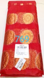 6.5m (with Blouse Piece) Party Wear Cotton Silk Saree With Zari Border