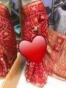 Bandhej Ghatchola Banarsi Silk Sarees