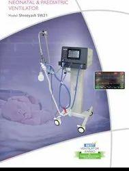 Shreeyash SW21 Neonatal Ventilator, Tidal Volume: 4 ml To 250 ml