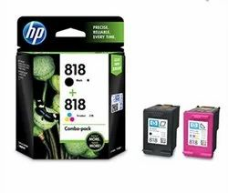 HP 818 Combo Pack Black/ Tricolor Ink Cartridge