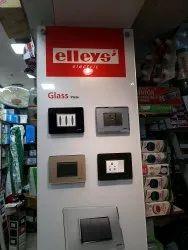 Transparent Plastic Modular Glass plates, For Home