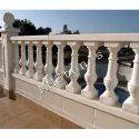 Stone Baluster Railing pillars