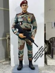 Marble Army Men Statue