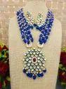 Long Kundan Necklace Set