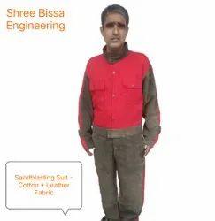 Sand Blast Safety Suit