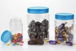 Plastic Container Checkers Stone Set of 12