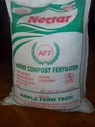 Organic Vermicompost Fertilizer 50kg (only for bulk quantity) minimum 10toons order