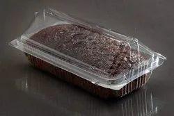 Plastic Brownie Cake Box