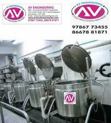 Hotel Steam Cooking Equipment / Rice Vessel