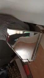 Stainless Steel Corner Shelf