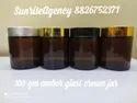 100 Gm Glass Cosmetic Jars