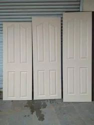Harmony 4 panel wood grain finish frp door