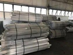 Angle Aluminium Railing Profile, For Industrial
