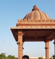 Temple chhatri dome