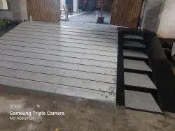 Black And White Granite Ramp Fitting